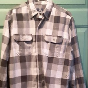 George Size Med. Gray Flannel